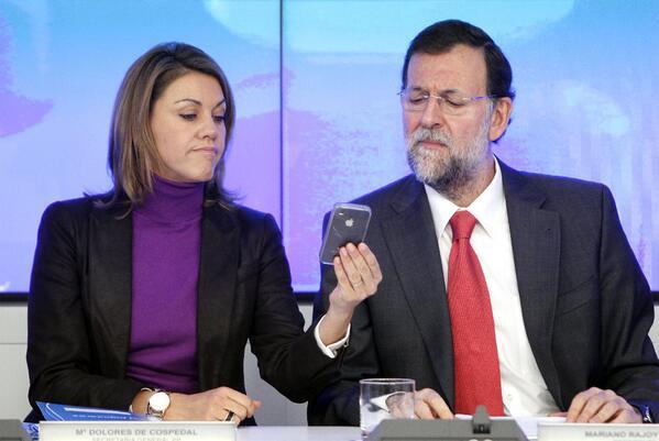 Cospedal e Rajoy