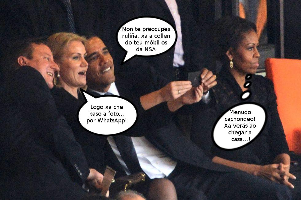 O cachondeo de Obama