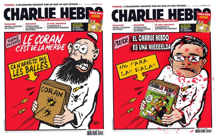 Je ne suis pas Charlie (Eu non son CharlieHebdo)