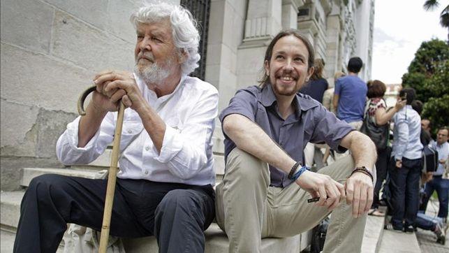 Beiras e Pablo Iglesias